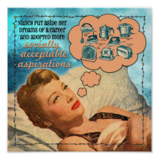 Socially Acceptable Aspirations Poster
