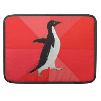 "Socially Awesome Penguin 15"" Macbook Pro Sleeve"