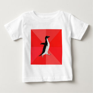 Socially Awesome Penguin Advice Animal Meme Baby T-Shirt