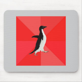 Socially Awesome Penguin Advice Animal Meme Mouse Pad