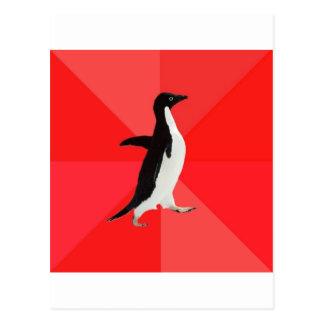 Socially Awesome Penguin Advice Animal Meme Postcards