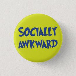 Socially Awkward Button