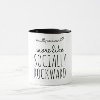 Socially awkward? mug