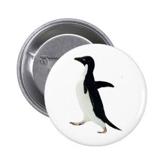 Socially Awkward Penguin 2 Inch Round Button