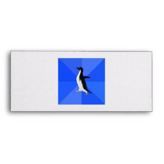 Socially Awkward Penguin Advice Animal Meme Envelope