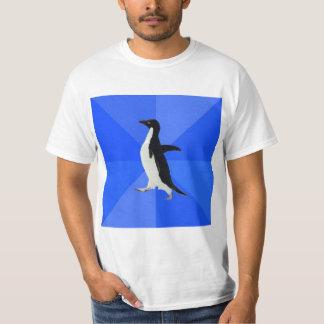 Socially Awkward Penguin Advice Animal Meme Shirt