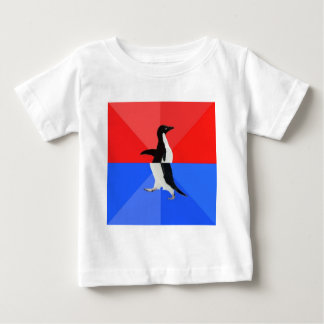 Socially Confused Penguin Advice Animal Meme Baby T-Shirt