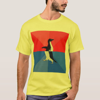 Socially Confused Penguin Advice Animal Meme T-Shirt