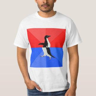 Socially Confused Penguin Advice Animal Meme T-Shirt