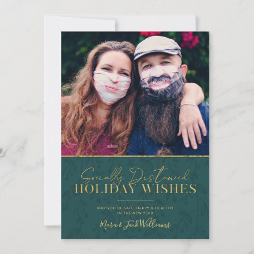 Socially Distanced Holiday Wishes