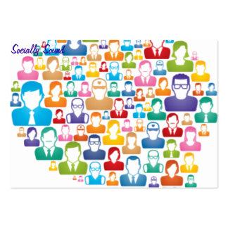 Socially Sound Business Card