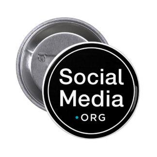 SocialMedia.org Pin Redondo 5 Cm