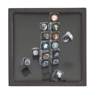 SOCIALUTION - Social Media Overload Jewelry Box