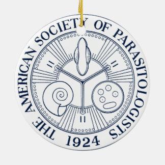 Sociedad americana de parasitólogos ornaments para arbol de navidad