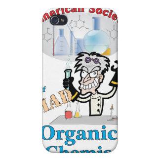 Sociedad americana de químicos orgánicos enojados iPhone 4 fundas