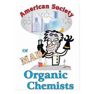 Sociedad americana de químicos orgánicos enojados postal