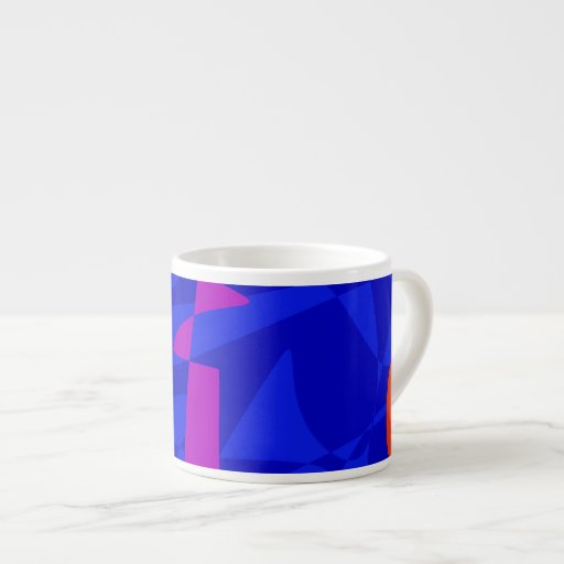 Sociedad azul taza espresso
