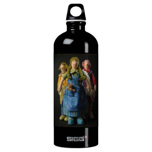 Sociedad - botella de la libertad
