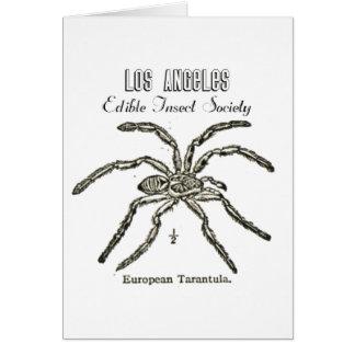 Sociedad comestible del insecto de Los Ángeles - T Felicitacion