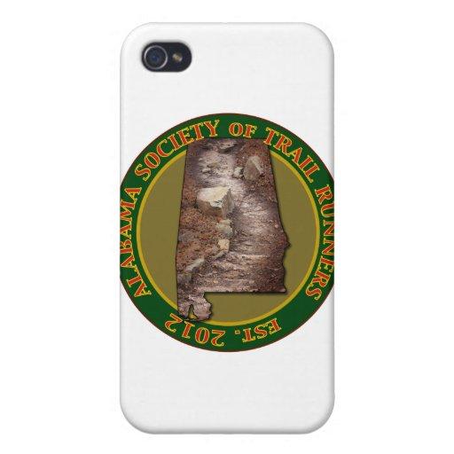 Sociedad de Alabama de los corredores del rastro iPhone 4 Protector