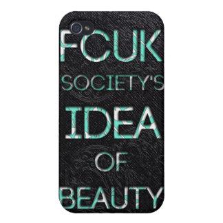 Sociedad de FCUK iPhone 4 Coberturas
