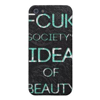 Sociedad de FCUK iPhone 5 Fundas