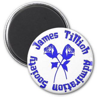 Sociedad de la admiración de James Tillich Imán Redondo 5 Cm