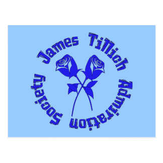 Sociedad de la admiración de James Tillich Postales