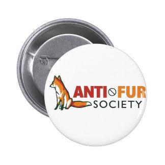 Sociedad de la Anti-Piel Pin Redondo De 2 Pulgadas