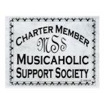 Sociedad de la ayuda de Musicaholic Postales