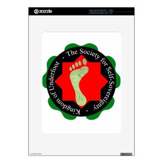 Sociedad de la Uno mismo-Soberanía Calcomanías Para El iPad