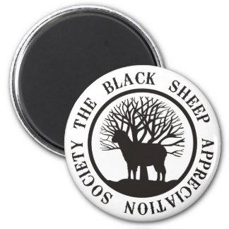 Sociedad del aprecio de las ovejas negras imanes de nevera