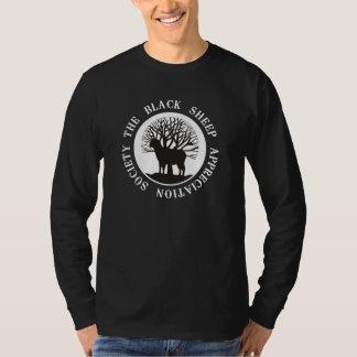 Sociedad del aprecio de las ovejas negras remera