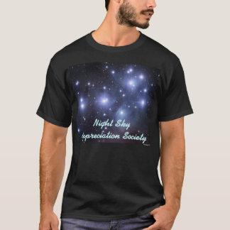 Sociedad del aprecio del cielo nocturno - camiseta