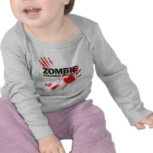 Sociedad del asesino del zombi camisetas