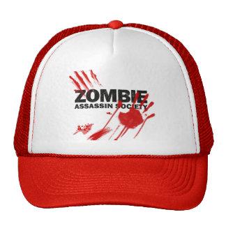 Sociedad del asesino del zombi gorros