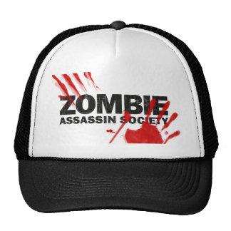 Sociedad del asesino del zombi gorras de camionero