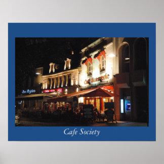 Sociedad del café posters