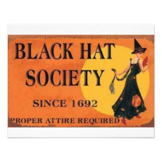 Sociedad del gorra negro comunicados