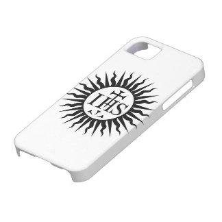 Sociedad del logotipo de Jesús (jesuitas) iPhone 5 Carcasa