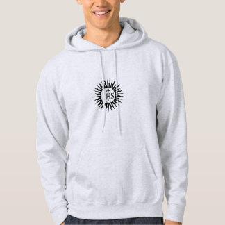 Sociedad del logotipo de Jesús (jesuitas) Jersey Encapuchado
