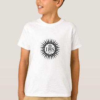 Sociedad del logotipo de Jesús (jesuitas) Playera