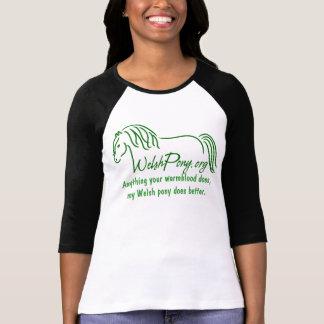 Sociedad del potro galés y de la mazorca de Améric Camiseta