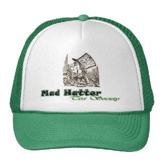 Sociedad enojada del té del sombrerero gorra