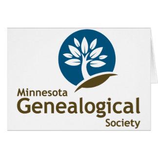 Sociedad genealógica de Minnesota Tarjeta De Felicitación