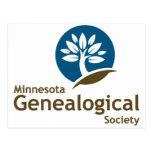Sociedad genealógica de Minnesota Tarjeta Postal
