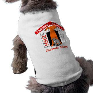 Sociedad humana de la camiseta del perro de Cozume Ropa Macota