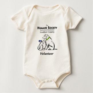 Sociedad humana de los productos del logotipo del trajes de bebé