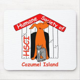 Sociedad humana del cojín de ratón de Cozumel Alfombrillas De Ratones
