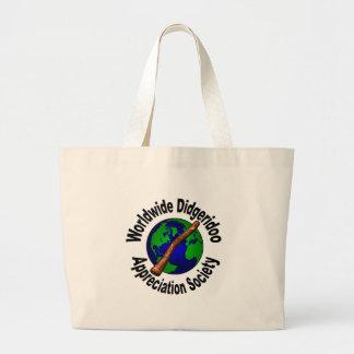 Sociedad mundial del aprecio de Didgeridoo Bolsa